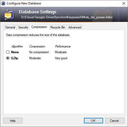 Options compression