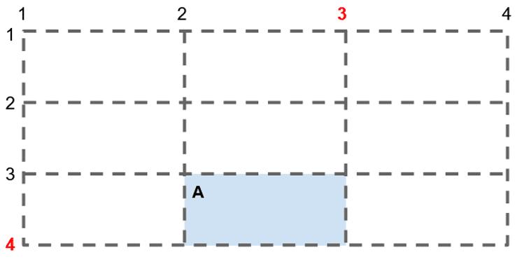 Exemple 4 de positionnement par rapport à une ligne