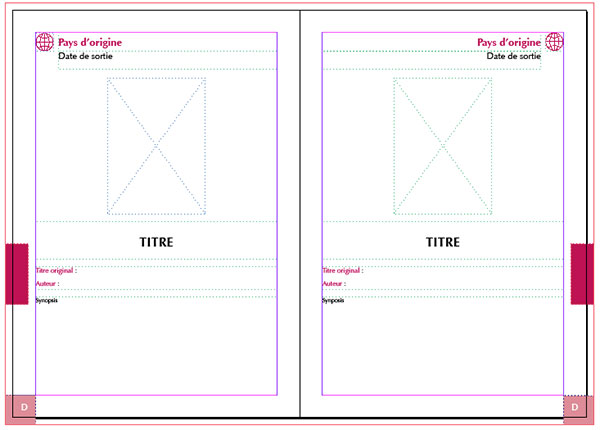 Création des styles pour les pages