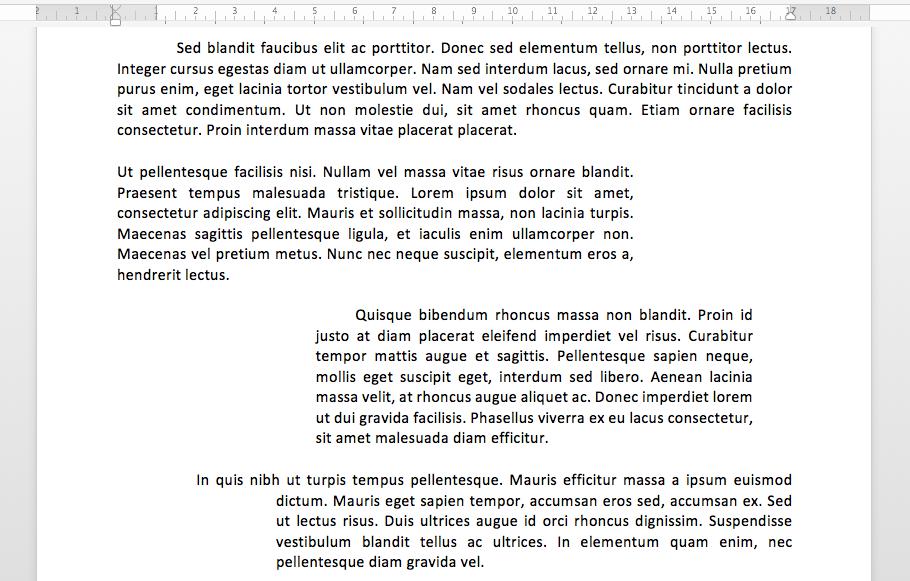 Mise En Forme De Base Sur Un Traitement De Texte Txt02 Web Formation